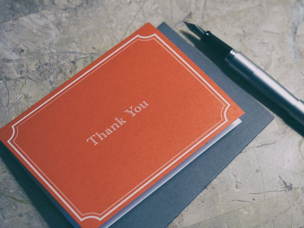 The surprising impact of sending thank you notes